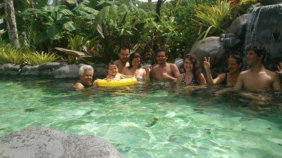Arenal Springs Resort and Spa: Disfrutando en familia de las