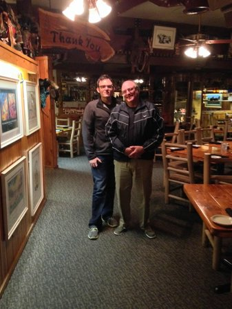 Charlie Clark's Steak House : Family