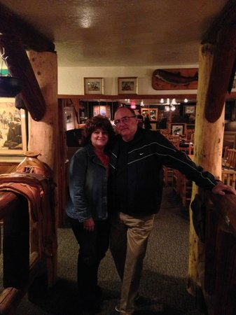 Charlie Clark's Steak House : Me and The Wife