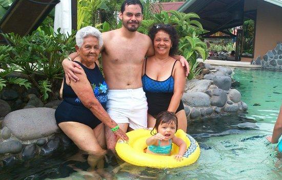Arenal Springs Resort and Spa: mas aguas termanles!!!!