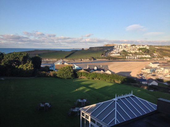 BEST WESTERN Porth Veor Manor Hotel: View from room 24