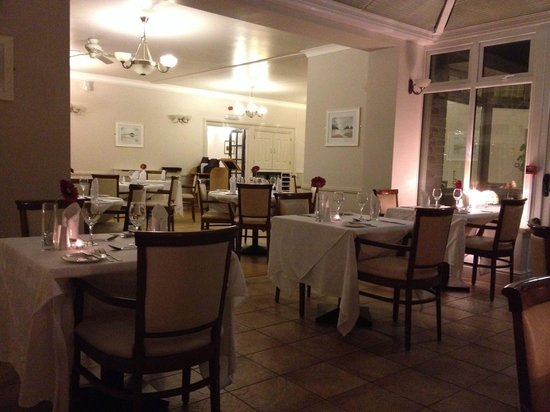 BEST WESTERN Porth Veor Manor Hotel: The restaurant