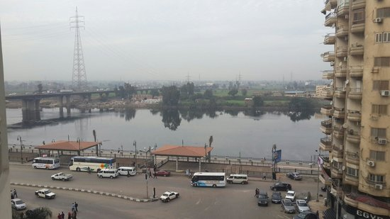 Mansoura, Egypt: View from room