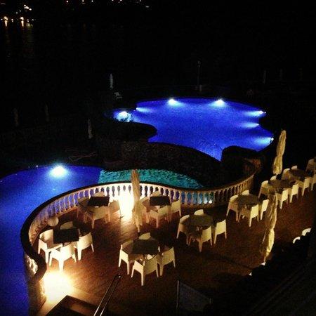 SENTIDO Punta del Mar: Evening view from balcony