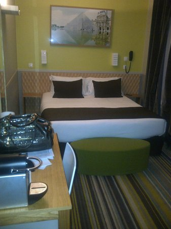 Hotel Glasgow Monceau : Chambre n°603