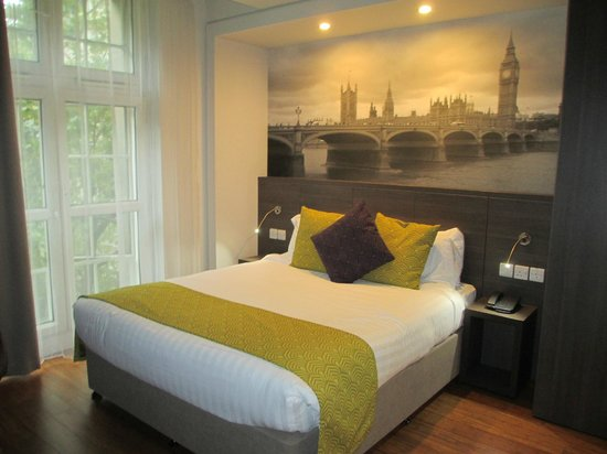 Citadines Trafalgar Square London : Bed