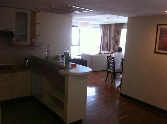 Bandara Suites Silom, Bangkok : Appartement 2 chambres 1 salon