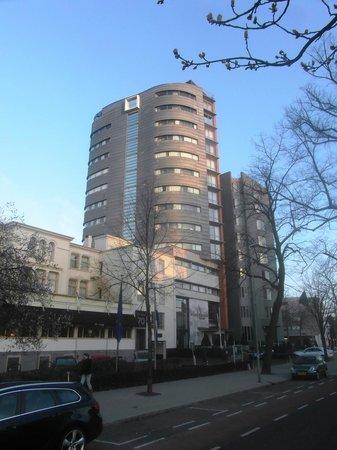 Bilderberg Parkhotel : Parkhotel from Westersingel