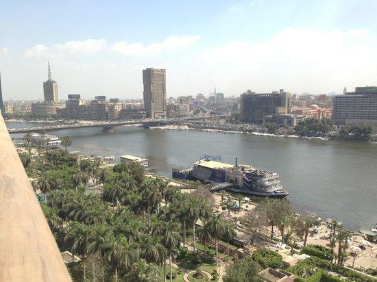 Novotel Cairo El Borg: Вид из окна