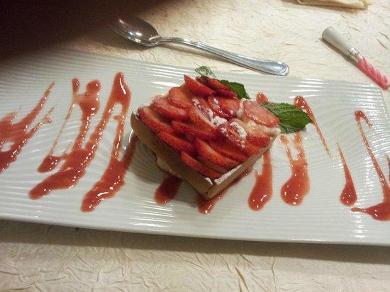 le rohein : tarte aux fraises