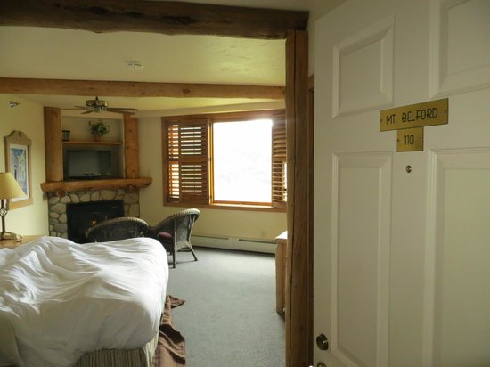 The Lodge at Breckenridge : the room itself