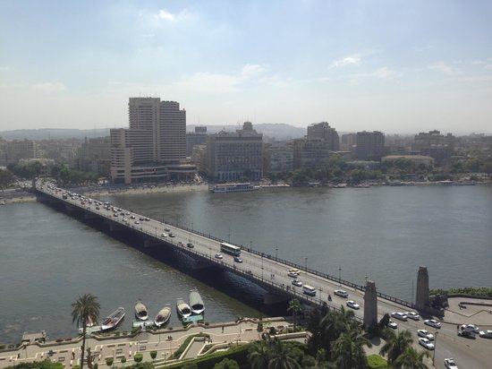 Novotel Cairo El Borg: Вид из окна на Нил