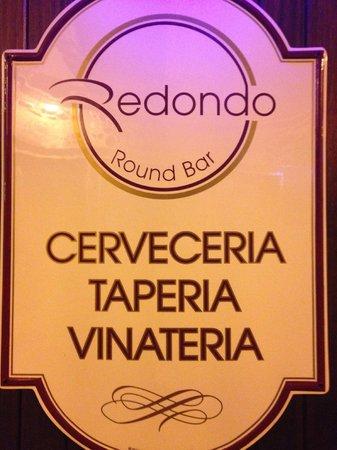 Redondo Bar : Cartel