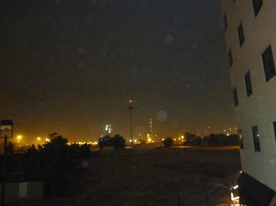 Arabian Park Hotel: vista do apartamento