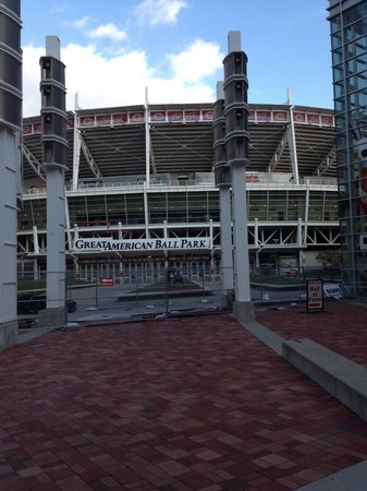 Great American Ball Park: Front of Park