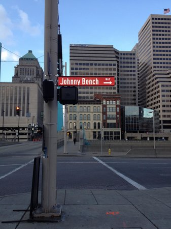 Great American Ball Park: Johnnie Bench Way