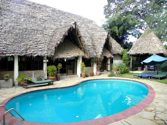 L'Oasis Lodge and Annexe: Pool