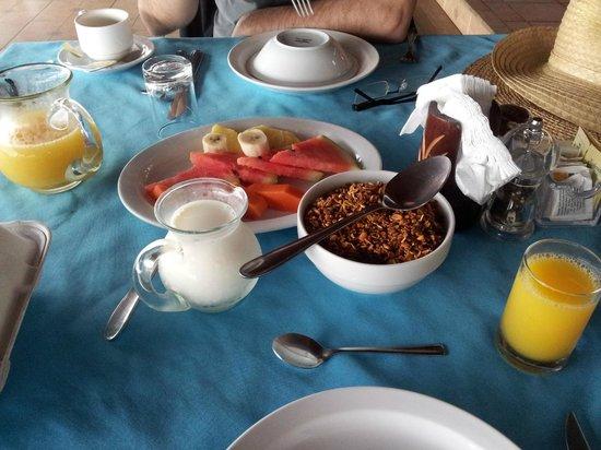 Tortuga Lodge & Gardens: Desayunito