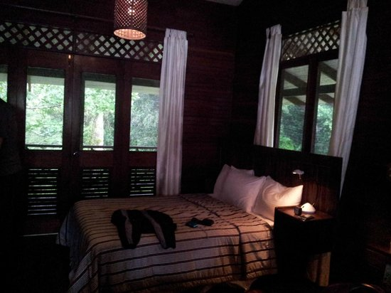 Tortuga Lodge & Gardens: nuestra linda habitacion