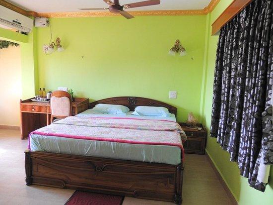 Palolem Green Inn : Bed