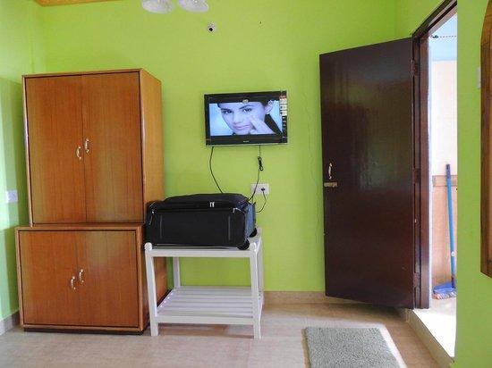 Palolem Green Inn : TV