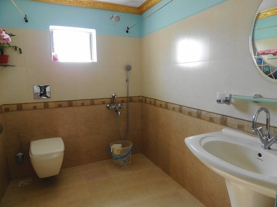 Palolem Green Inn : Bathroom