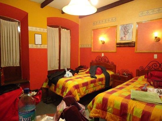 Grand Hotel: Duas camas de solteiro - para gigantes!