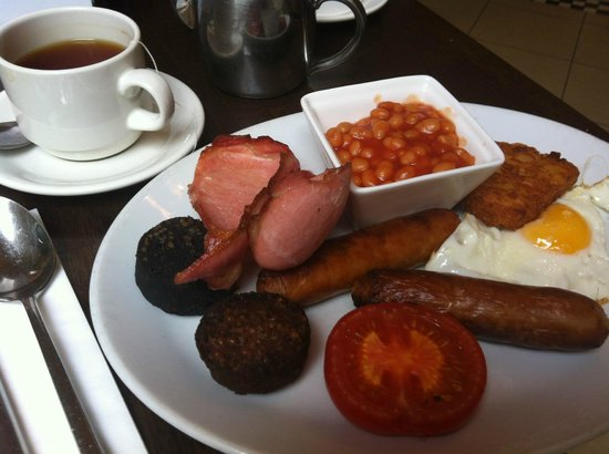 The West Cork Hotel: Irish breakfast !!!