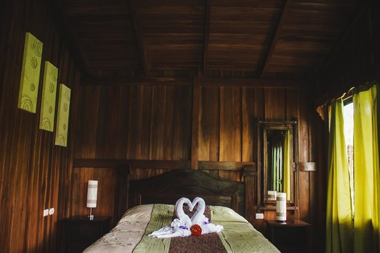 Hotel Rancho Cerro Azul: Inside the cabin