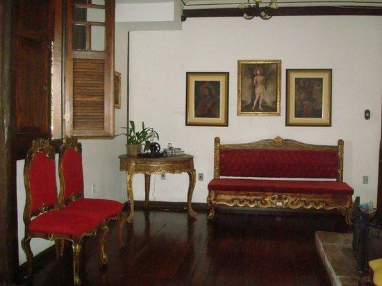 Pousada Gamarano: sala de estar