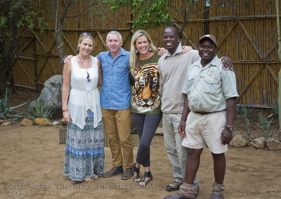 Tanda Tula Safari Camp: The Owners and Staff at Tanda Tula