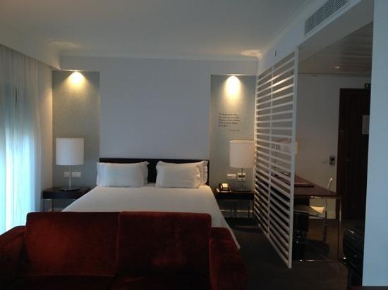 Olissippo Saldanha : chambre vue lit