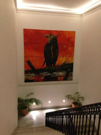 Palacio Garvey Hotel: Treppenhaus
