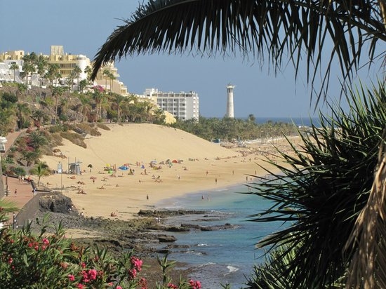 Faro de Morro Jable: from Morre Jable town