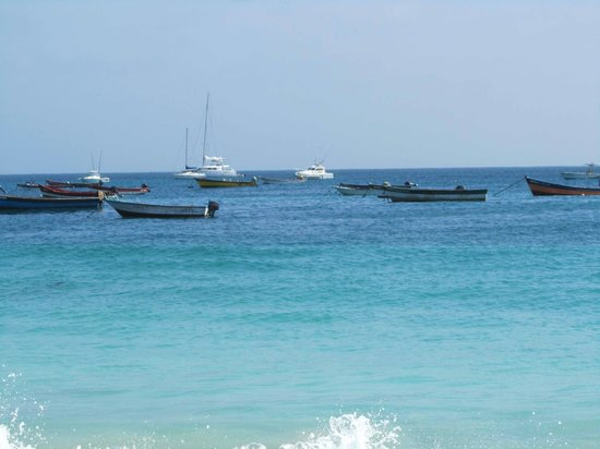 Hotel Morabeza : The sea in front of Morabeza