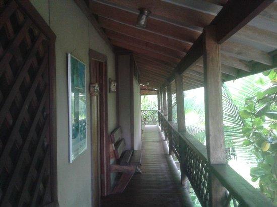 Kaya's Place: balcon