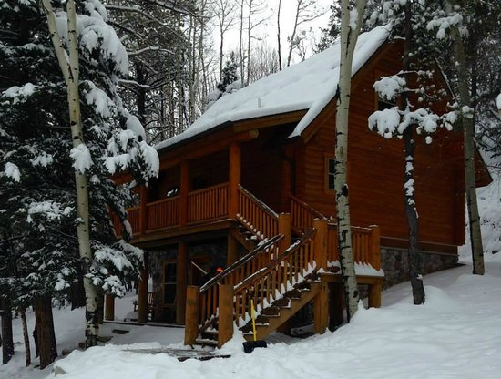 Mount Princeton Historic Bath House & Hot Springs: Our cabin