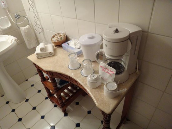 Hotel & Bungalows Mayaland: Coffee Set Up...
