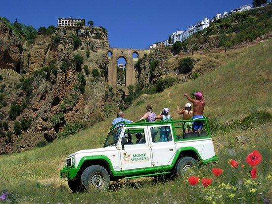 Monte Aventura, Andalucia Ecotours: Monte Aventura en Ronda