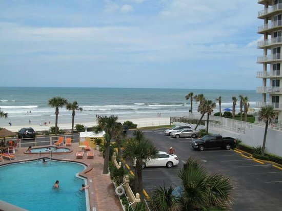 Daytona Beach Ss Hotel View From Ocean Balcony
