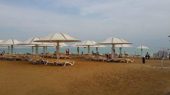 Lot Spa Hotel: The beach