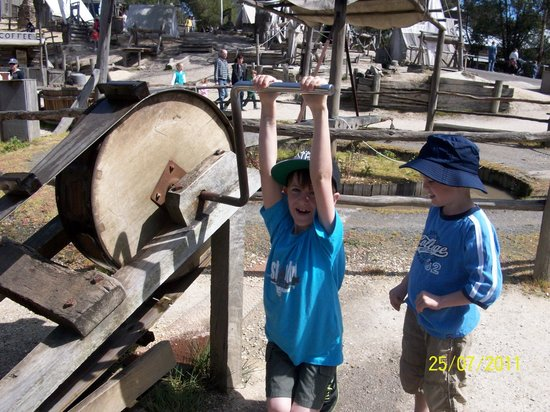 Sovereign Hill: Getting a feel for it!