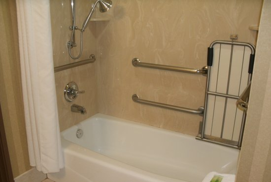Holiday Inn Express Suites Lake Worth NW Loop 820: Handicap accessible bathroom
