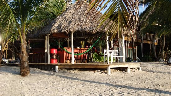 Ambergris Divers Resort: the bar :)