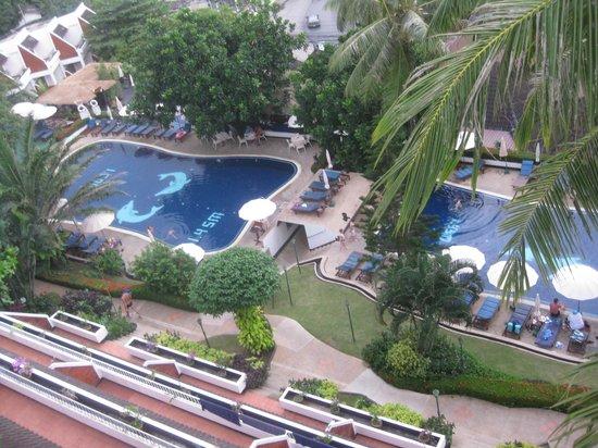 Best Western Phuket Ocean Resort: Lower pools