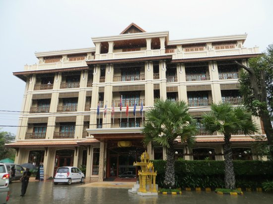 Angkor Sayana Hotel & Spa: The hotel