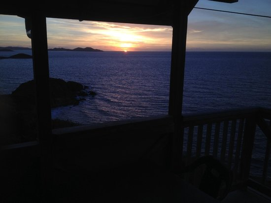 Concordia Eco-Resort: Morning sunrise from P-10