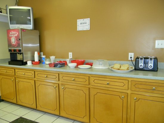 Fairfax Motel: Coffee and Breakfast at morning