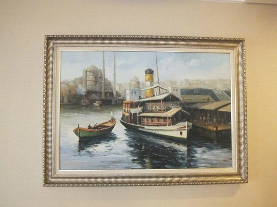 Recital Hotel: Painting from ancient iSTANBUL in our room