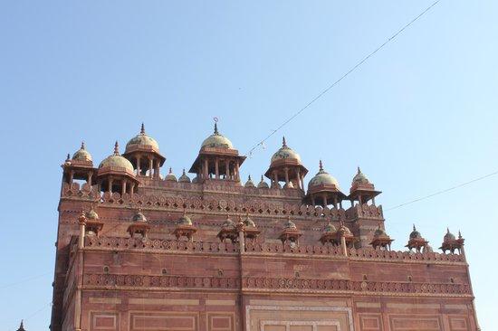 Jama Masjid : detalles de la mezquita